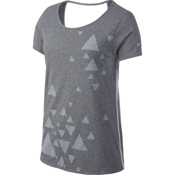 Женская одежда Nike OPEN BACK GRAPHIC SS TOP 589020-011