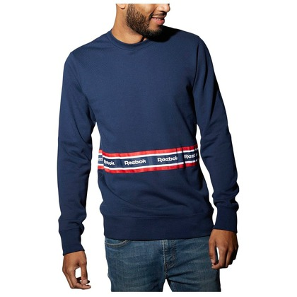 Мужская одежда Reebok Taped Crew Neck Sweatshirt BK3803