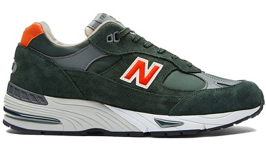 Мужская обувь New Balance 991 70`s Sport Made in UK M991TNF