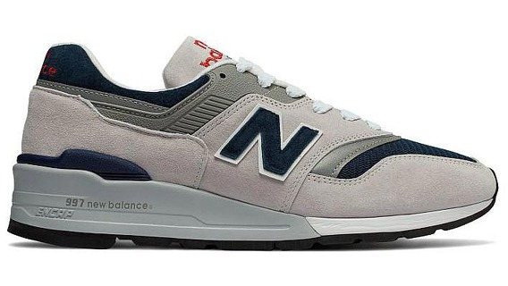 Мужская обувь New Balance 997 Made in USA M997WEB