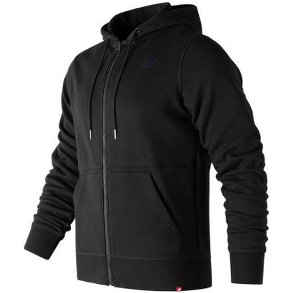 Мужская одежда New Balance Mens Essentials Full Zip Hoodie MJ73528-BK