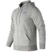 Мужская одежда New Balance Heather Full Zip Hoodie MJ81556-HG