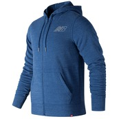 Мужская одежда New Balance Heather Full Zip Hoodie MJ81556-LBT