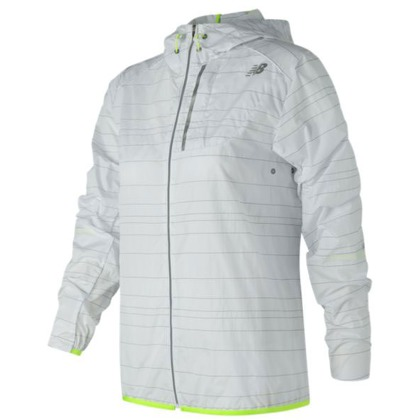 Женская одежда New Balance Reflective Light Packable Jacket WJ71203-WT