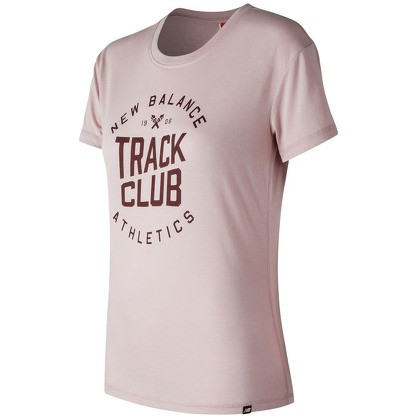 Женская одежда New Balance Womens Track Club Tee WT73503-FDR