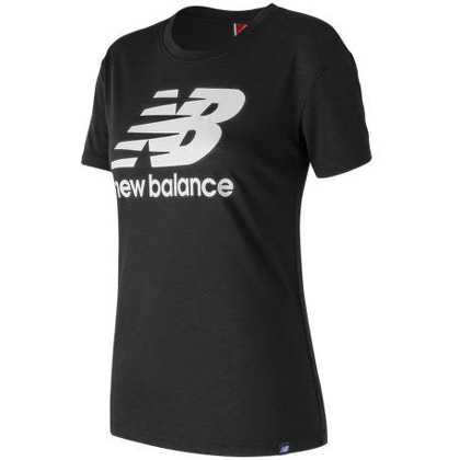 Женская одежда New Balance Womens NB Logo Tee WT73504-BK