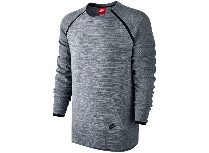 Мужская одежда Nike Tech Knit Crew Mens Top 728673-060