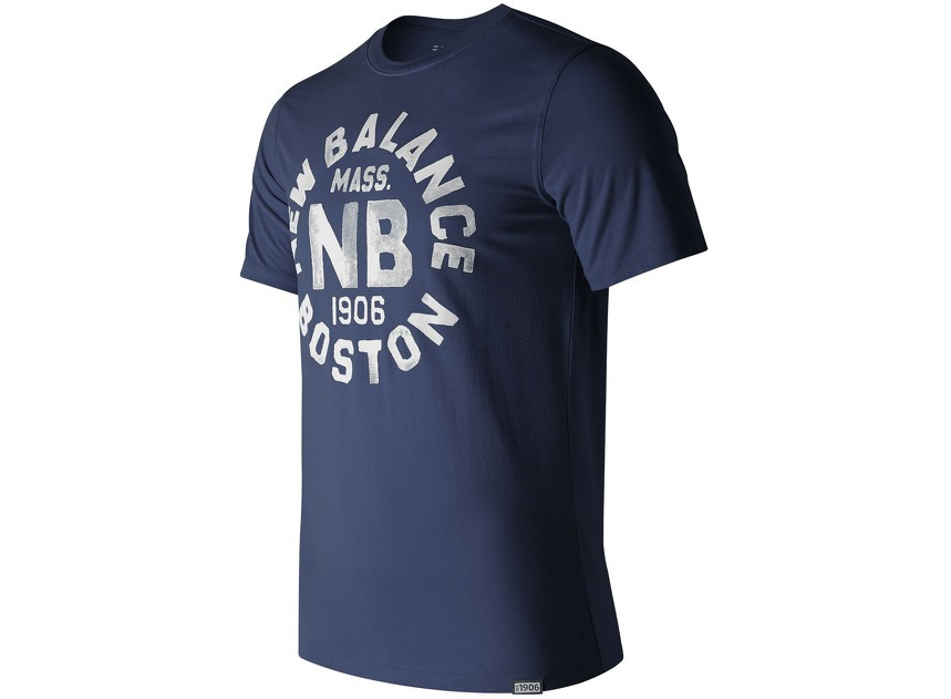 Мужская одежда New Balance Boston Tee MT71506-NV