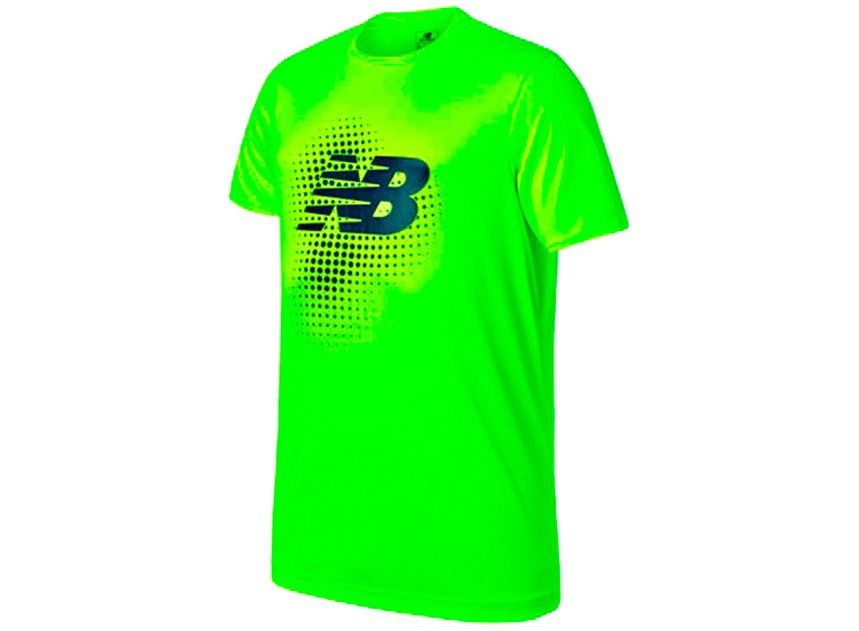 Мужская одежда NEW BALANCE TECH TRAINING SS JERSEY  WSTM732-TOX